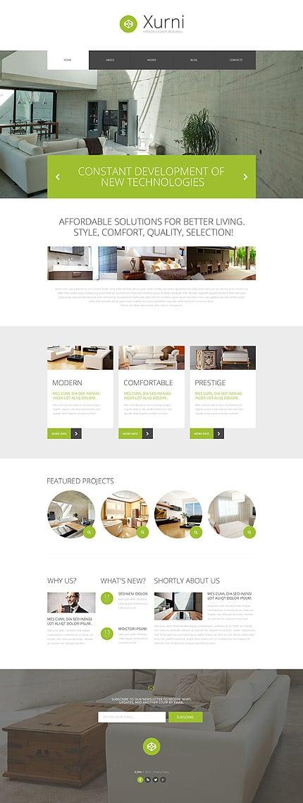 PSD макет сайта №55889