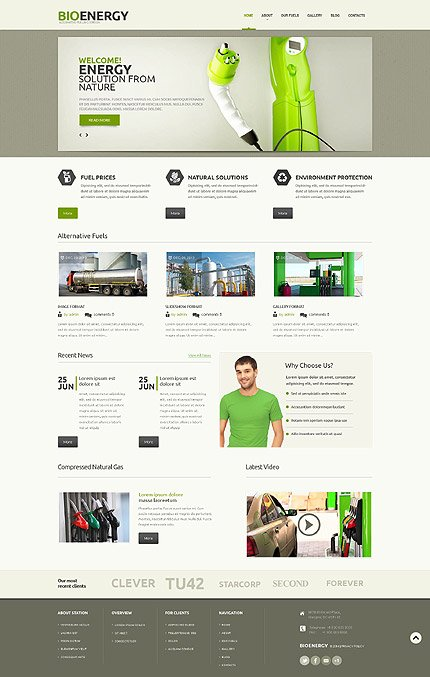 ADOBE Photoshop Template 55890 Home Page Screenshot