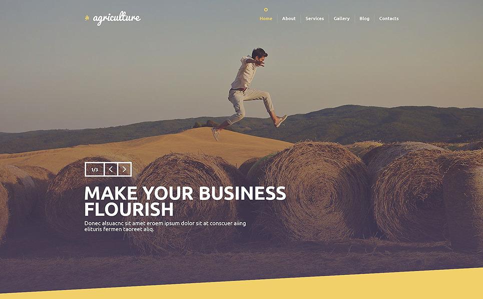 PSD šablona Zemědělství New Screenshots BIG