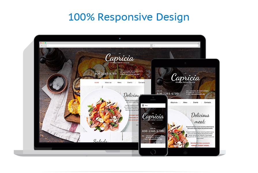 Modèles HTML5 Café et Restaurant #55899