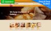 Адаптивный MotoCMS 3 шаблон №55861 на тему хлебобулочные изделия New Screenshots BIG