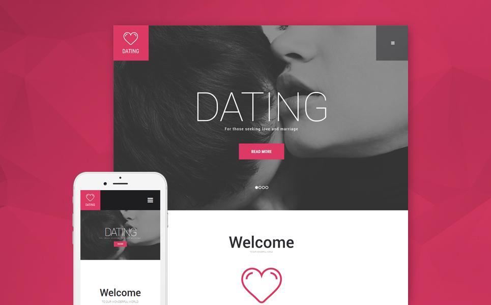 Адаптивный шаблон на тему сайт знакомств #55820