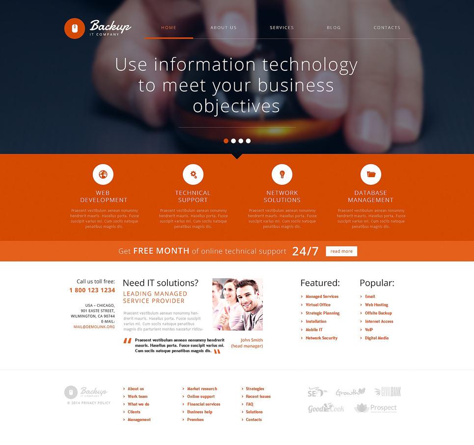 Backup PSD Template New Screenshots BIG