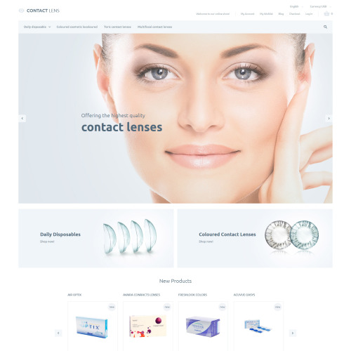 Clear Lenses - Magento Template based on Bootstrap