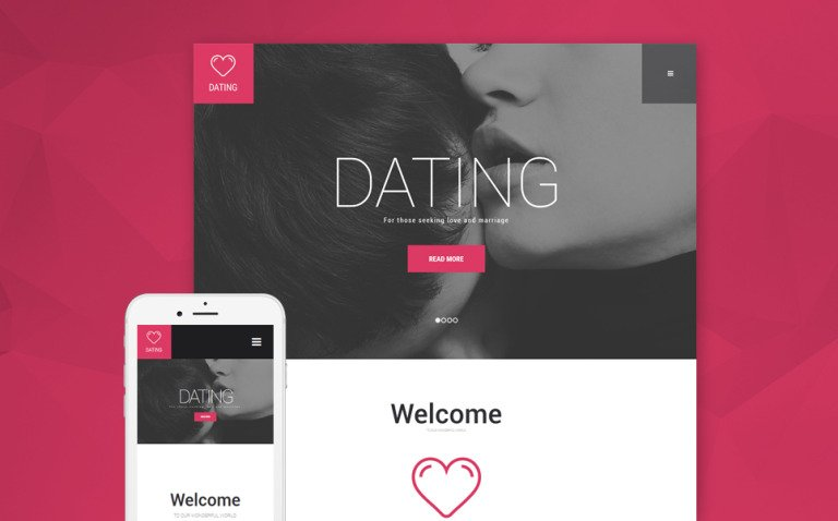 Dating Agency WordPress Theme New Screenshots BIG