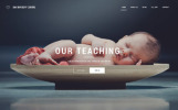 "Modello Siti Web Responsive #55802 ""Day Nursery Centre - Kids Center Minimal HTML Bootstrap"""