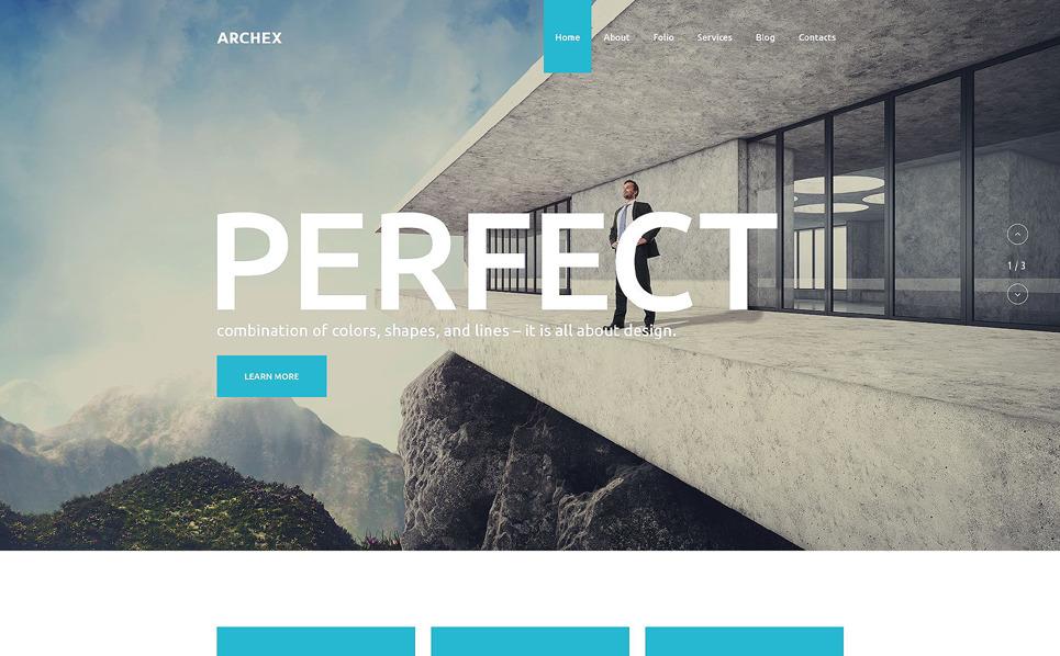 Plantilla psd 55885 para sitio de arquitectura for Sitios web de arquitectura