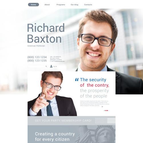 Richard Baxton - Responsive Drupal Template