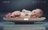 Responsive Day Nursery Centre - Kids Center Minimal HTML Bootstrap Web Sitesi Şablonu