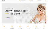Responsywny szablon strony www Perfect Day - Wedding Planning Multipage HTML #55805