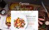 Reszponzív Cafe and Restaurant Weboldal sablon New Screenshots BIG