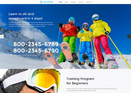 Skiing Responsive
