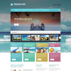 travelino psd theme 55833 - Templates