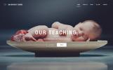 """Website Vorlage namens """"Day Nursery Centre - Kids Center Minimal HTML Bootstrap"""""""