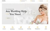 "Website Vorlage namens ""Perfect Day - Wedding Planning Multipage HTML"""