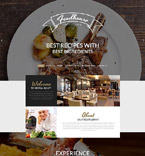 Cafe & Restaurant PSD  Template 55904