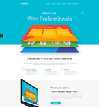 Web design PSD  Template 55907