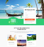 Travel PSD  Template 55908