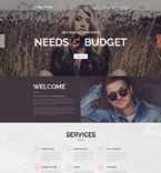 Art & Photography PSD  Template 55909