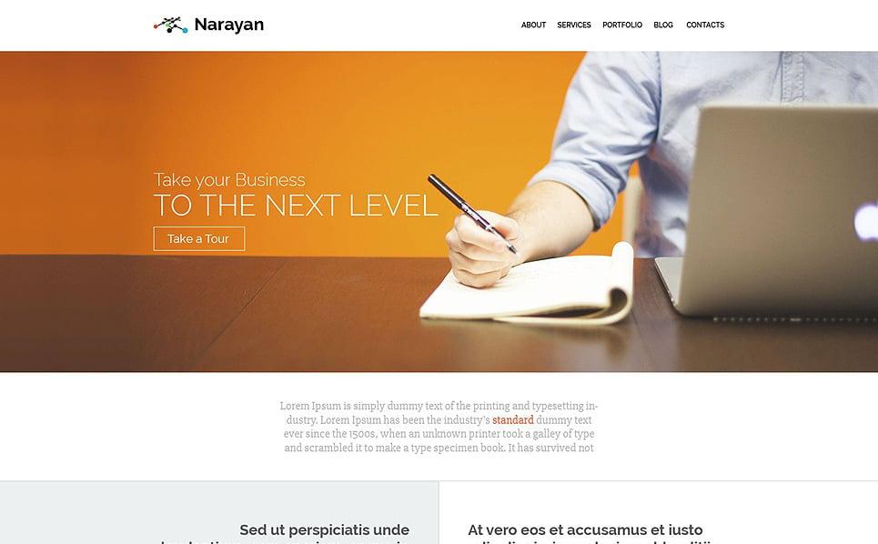 Szablon PSD #55910 na temat: biznes i usługi New Screenshots BIG