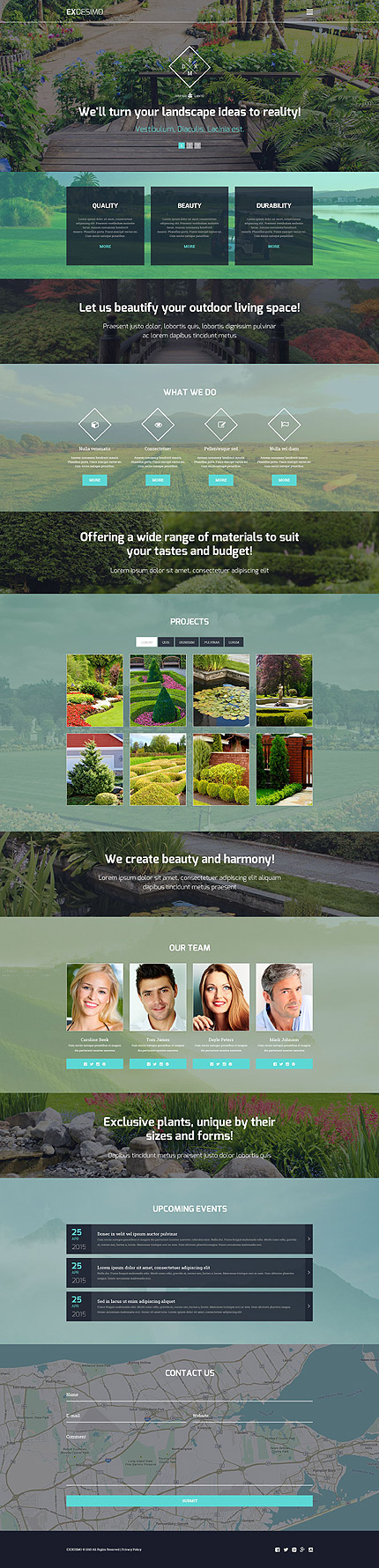 Website Template #55916