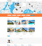 Real Estate PSD  Template 55919