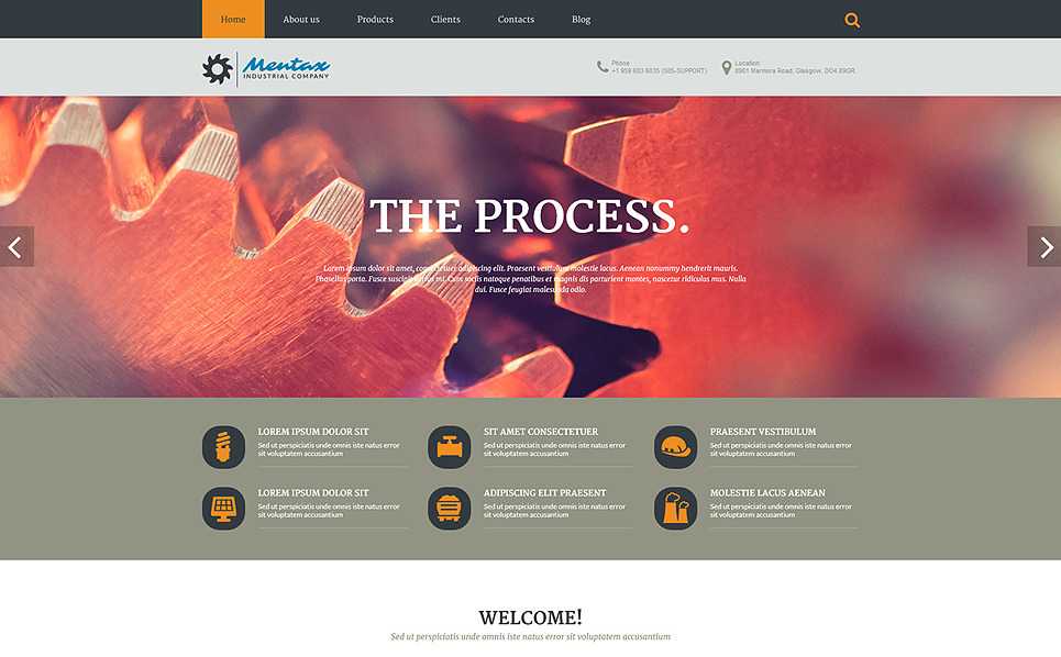PSD Vorlage für Industrie  New Screenshots BIG