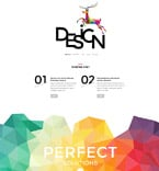 Web design PSD  Template 55936