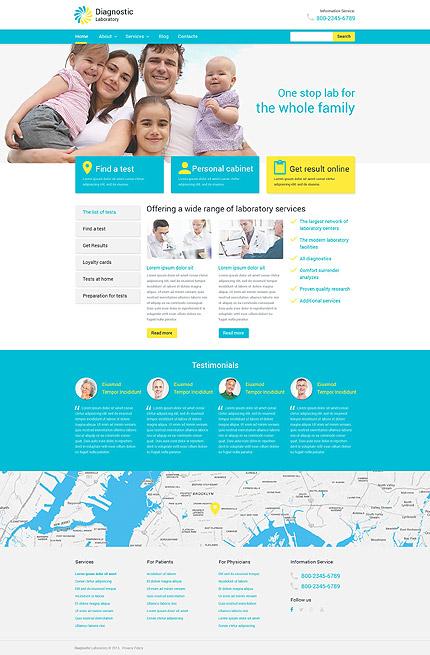 PSD макет сайта №55938