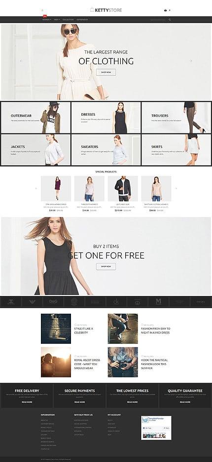 Magento Theme/Template 55943 Main Page Screenshot