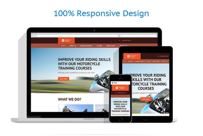 motor sports website template