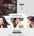 Cafe & Restaurant Website  Template 55949