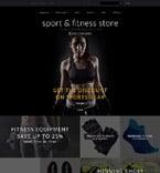 Sport OpenCart  Template 55950