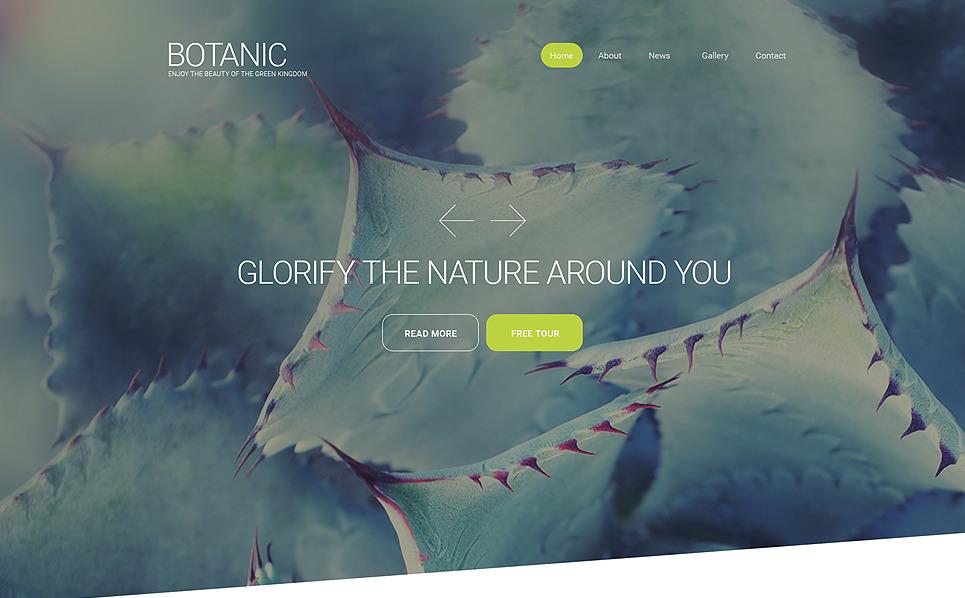 Responsive Website template over Tuinontwerp  New Screenshots BIG