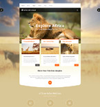 Animals & Pets Joomla  Template 55957