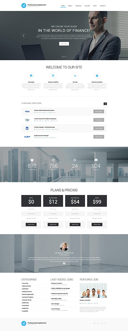 Drupal Template 55959 Main Page Screenshot