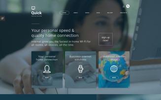 Quick - Hosting Multipage Creative Joomla Template