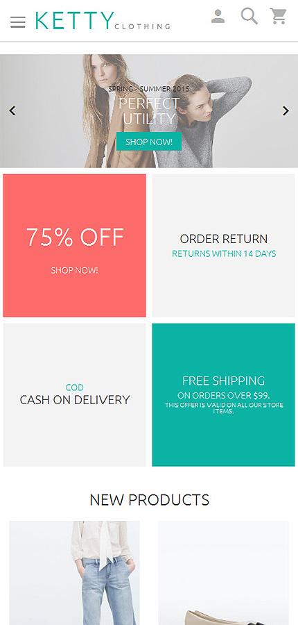 Magento Theme/Template 55971 Main Page Screenshot