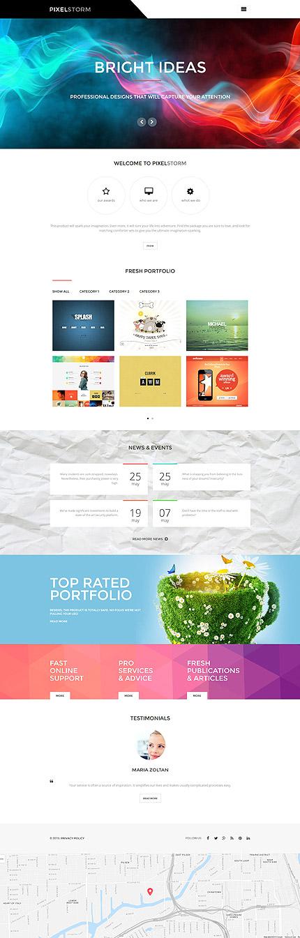 WordPress Theme/Template 55972 Main Page Screenshot