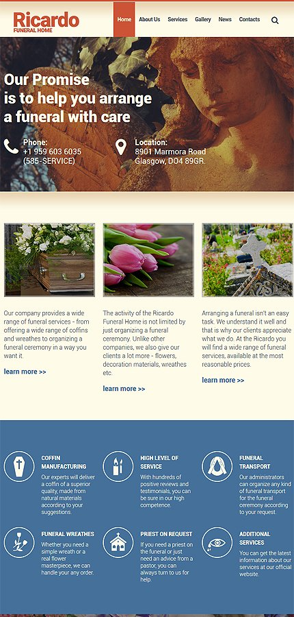 Drupal Template 55974 Main Page Screenshot