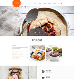 Cafe & Restaurant Drupal  Template 55975