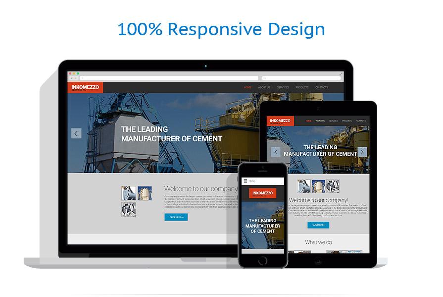 Modèles HTML5 Industriel #55978