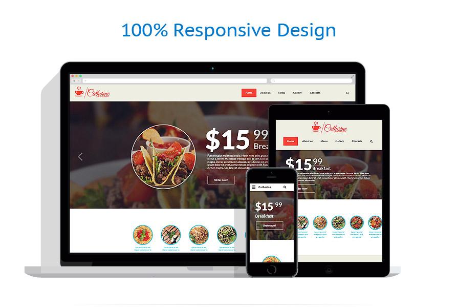 Modèles HTML5 Café et Restaurant #55980