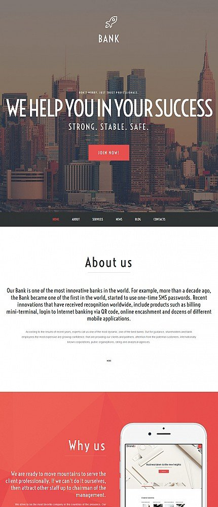 ADOBE Photoshop Template 55993 Home Page Screenshot