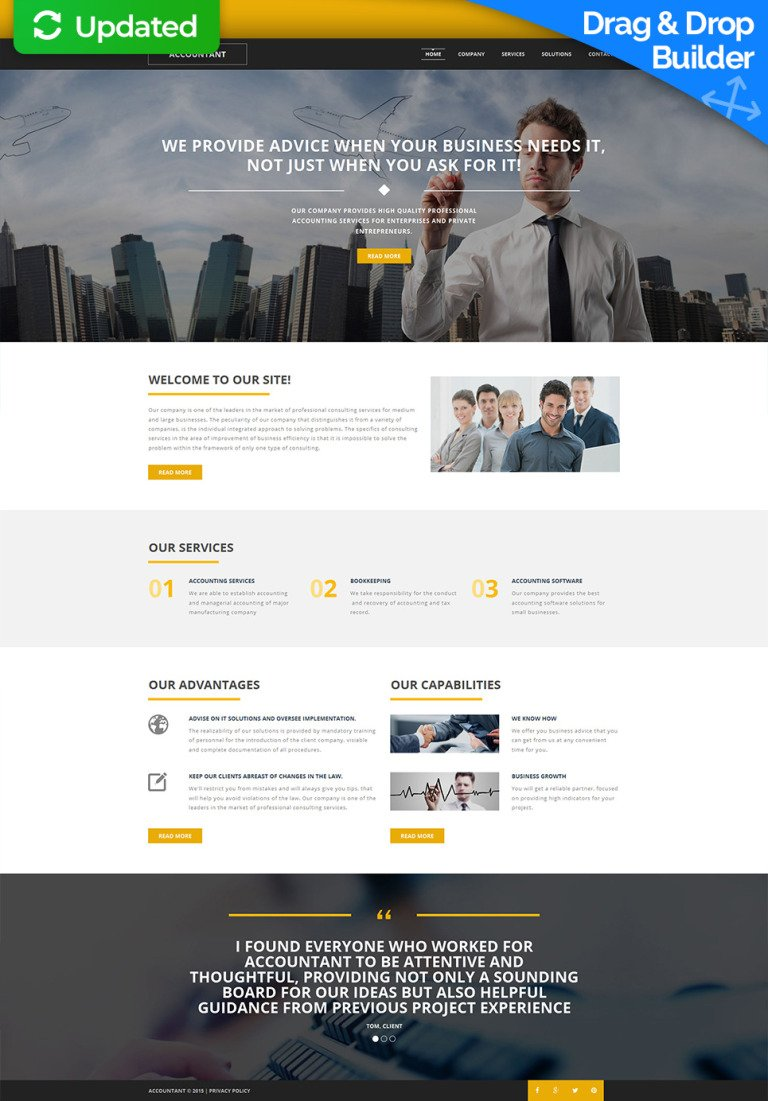 Accounting Website Responsive Moto CMS 3 Template New Screenshots BIG