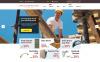 Адаптивный Shopify шаблон №55965 на тему строительные компании New Screenshots BIG