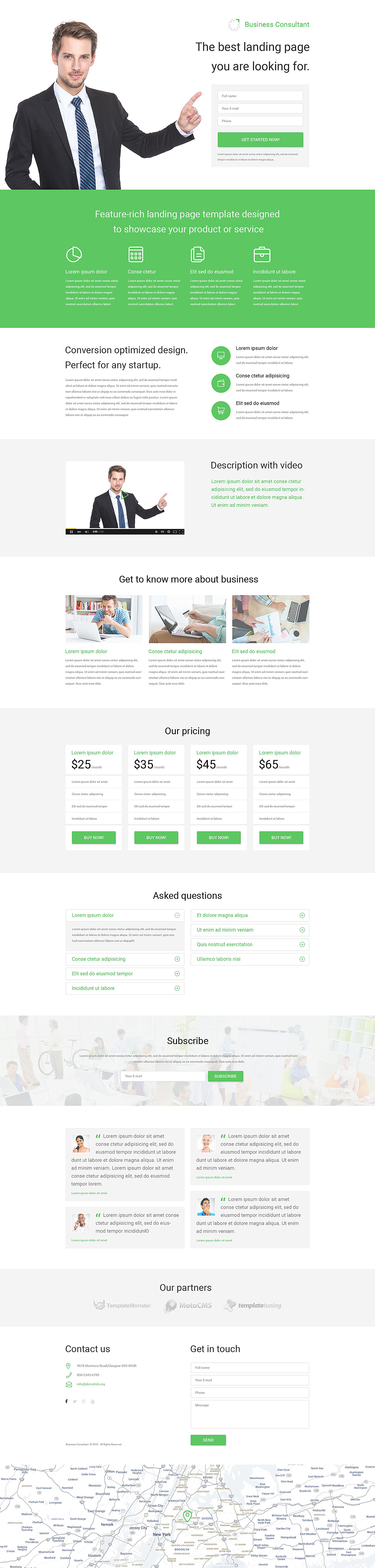 Business consultant psd template business consultant psd template new screenshots big wajeb Gallery