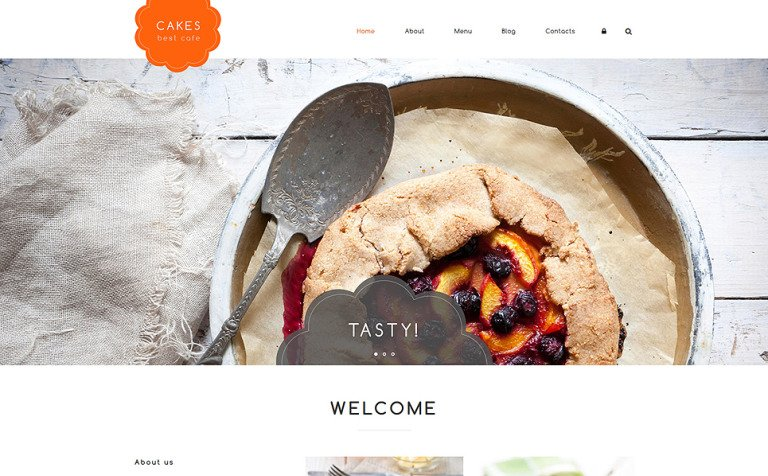 Cakes Drupal Template
