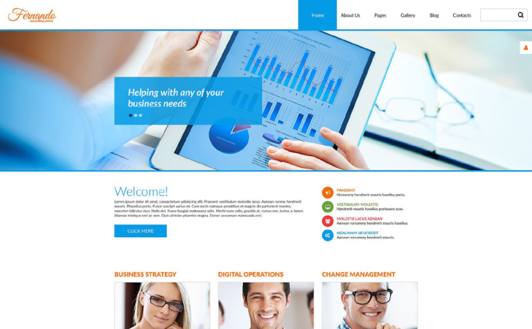 Corporate psd template corporate consulting psd template new screenshots big accmission Gallery