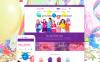 """Festive Balloons"" - адаптивний Magento шаблон New Screenshots BIG"